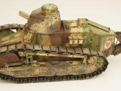 Meng 1/35 FT-17 French Light tank : Zaidi 'Silantra'