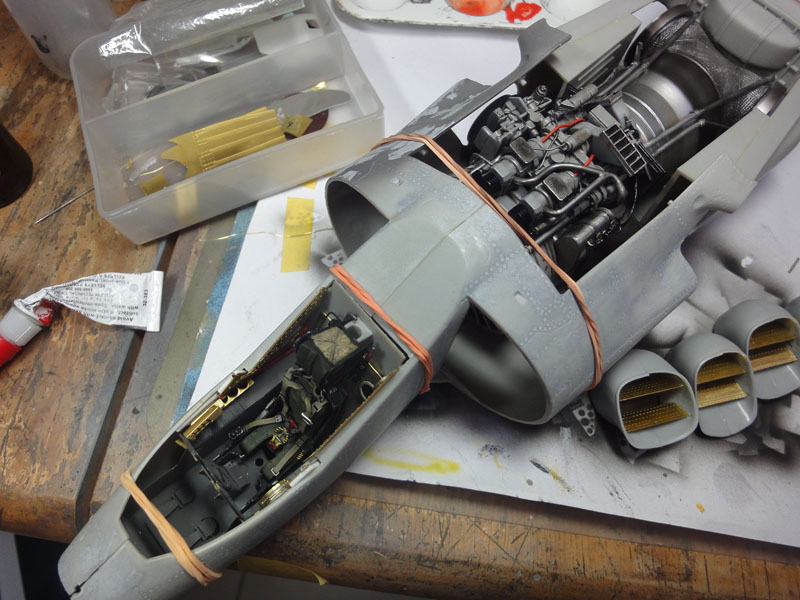 Scale Modellers Malaysia Airfix 1 24 Harrier Gr3 Part 3
