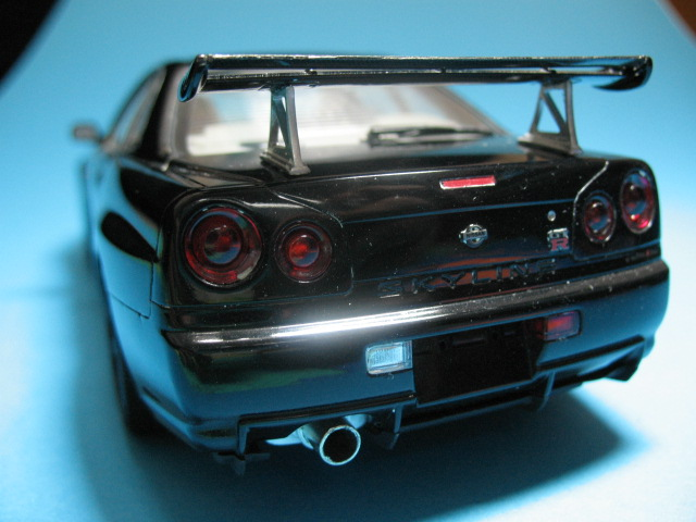 Scale Modellers Malaysia - Tamiya 1:24 Nissan Skyline R34 V