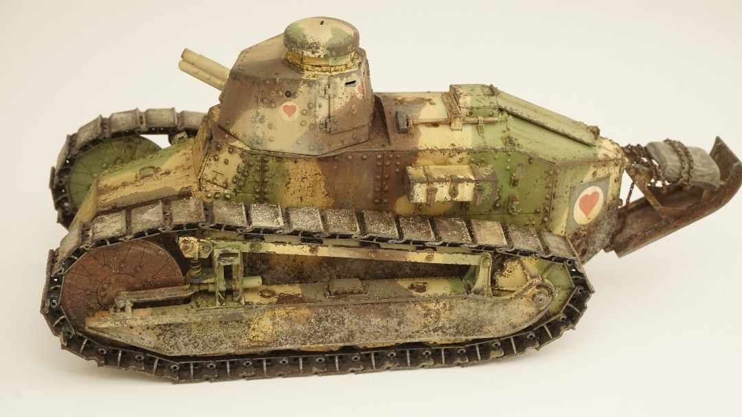 Scale Modellers Malaysia - Meng 1/35 FT-17 French Light tank